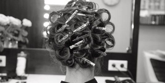 Процес укладки волосся для тих, хто не поспішає️